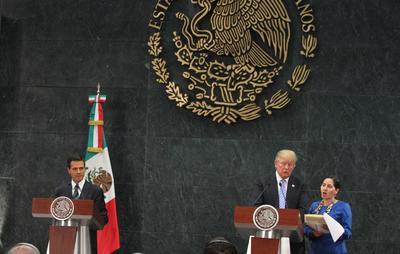 En el tema migratorio, el presidente le externó al candidato republicano que hacer más segura la frontera es de vital importancia para ambos países.