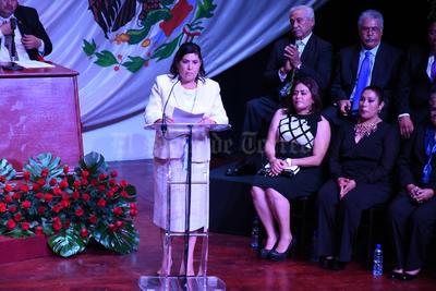 María Luisa González Achem destacó que durante su Gobierno los ejes de trabajo serán el social, el económico, el rural, político, el administrativo y educativo.