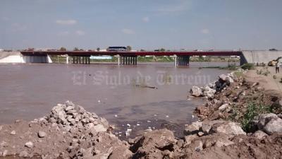 El río lleva ya 8 días con agua corriendo por su lecho.