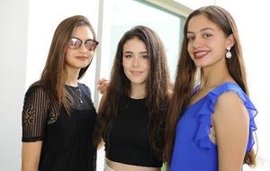 Paulina, Sofía y Katy