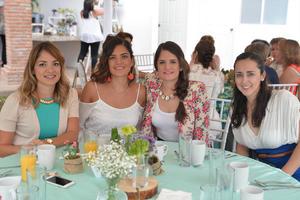 Carla, Pamela, Valery y Ale
