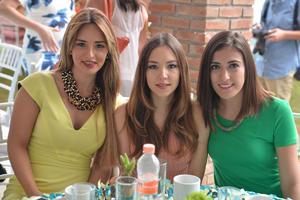 Marcela, Paulina e Ilse