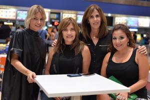 Luisa, Cecilia, Cristina y Lizeth