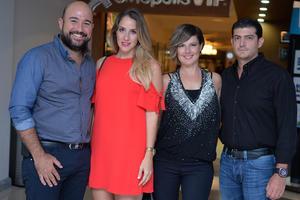 Neto, Lula, Laura y Yussef