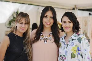 Cristina, Rosa y Sofía