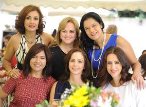 Layla, Anabel, Liliana, Gloria Esther, Alicia y Leonor