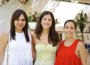 Lucero, Isabel y Sofía