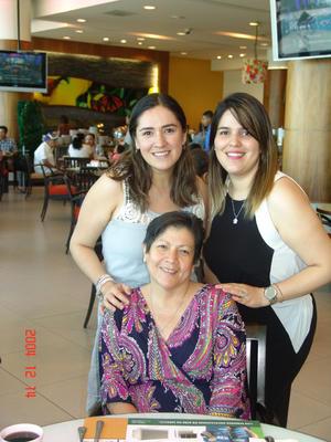 03092016 CONTENTAS.  Cindel, Anahí y Patricia.