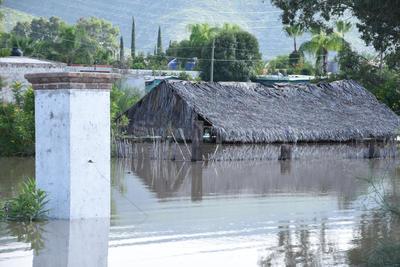 Otras zonas inundadas en Lerdo se encuentran en los ejidos Monterrey, Los Ángeles y Villa Juárez.