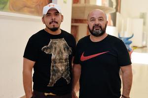 04092016 EN EL TEATRO NAZAS.  Víctor y Hans.