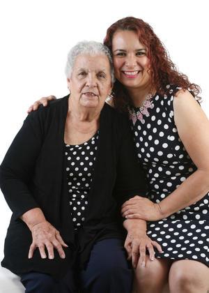 05092016 LINDA POSTAL.  Hilda e Hilda Cecilia.