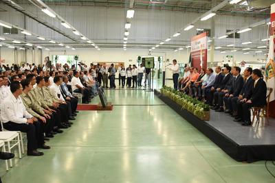 La llegada a Torreón de esta proveedora de autopartes, arneses, conectores de alto voltaje y componentes electrónicos representa una inversión de 980.5 millones de pesos.