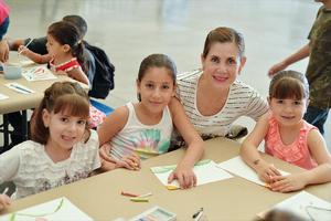 06092016 DIVERTIDA MAÑANA.  Barbie, Jimena, Lilia y Sofía.