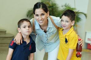 07092016 EN FAMILIA.  Andrés, Ana Lucía y Fernando.