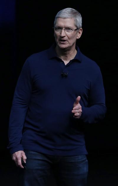 Tim Cook encabezó la presentación de los nuevos productos de Apple.