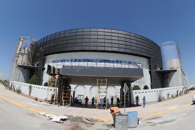 El Coliseo Centenario está renovando su infraestructura.