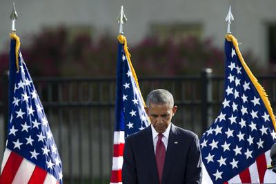 Obama demandó a los ciudadanos a mantenerse alerta.
