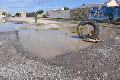 Suroriente. Las colonias como Rincón La Merced, fueron de las más dañadas por las lluvias.