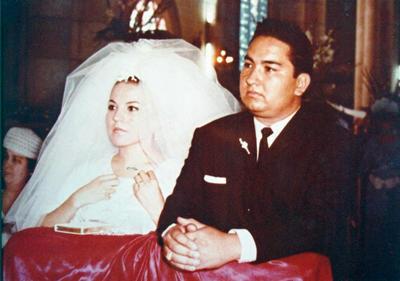 11092016 50 ANIVERSARIO DE BODAS, Srita. Martha Margarita Arzola González y Dr. José Mauro Aguado González el 10 de septiembre de 1966.