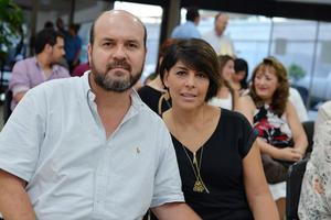 14092016 EN EVENTO CULTURAL.  Arturo y Silvia.