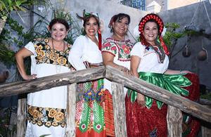 15092016 Rosa Velia, Patricia, Olga y Graciela.