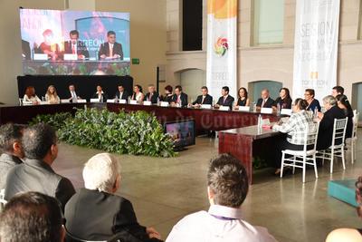 El Cabildo de Torreón celebró la Sesión Solemne como parte de los Festejos del 109 Aniversario de la ciudad de Torreón.