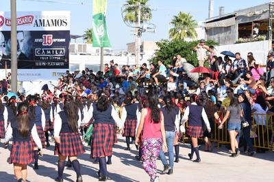 Participaron alumnos de instituciones educativas públicas y privadas de primaria y secundaria.