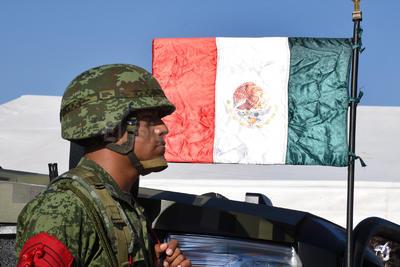 Se realizó el desfile anual por la Independencia de México.