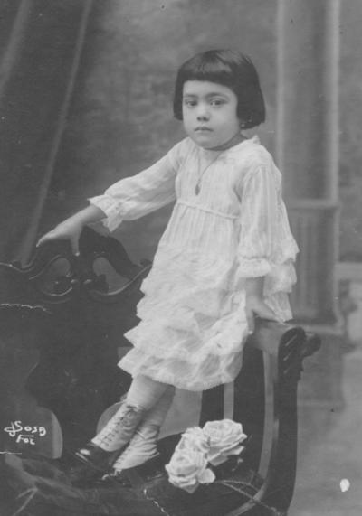 18092016 Rosa Villa, en 1921.