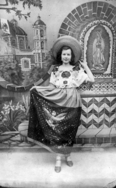 18092016 Rosario Zúñiga, en 1940.