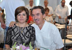 Mayte y Luis Miguel