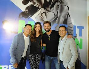 Christian Mijares, Fabiola, Gabriel Soto y Jorge