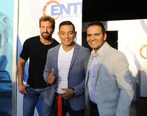Gabriel Soto, Christian Mijares y Jorge