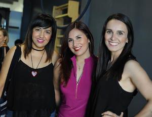 Karla, Angélica y Edith