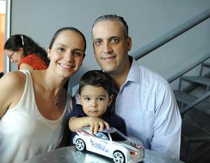 Sofía, José Luis y Rodrigo