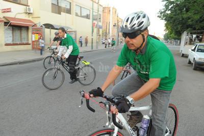 El colectivo Ruedas del Desierto conmemoró el Día Mundial sin Auto con el Desafío Modal 2016.