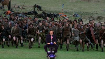 Y también lideró un ejército en la cinta Corazón V