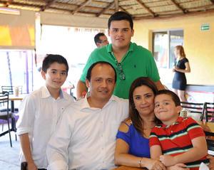 23092016 Lucía, Víctor, Santiago, Luis y Diego.