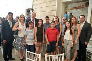 25092016 EN EMOTIVA CEREMONIA.  Familia Rosas Martín.