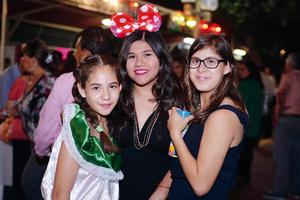 25092016 Allison, Marifer y Sofía.