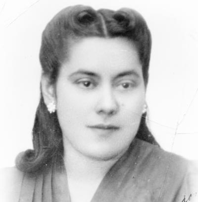 25092016 Rosa Villa en la década de los 40.