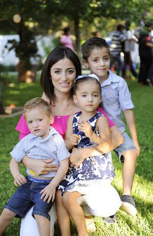 26092016 Samantha, Franco, Valentina y Diego.