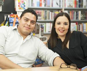 25092016 Marcos Solís y Marcela Castañeda.