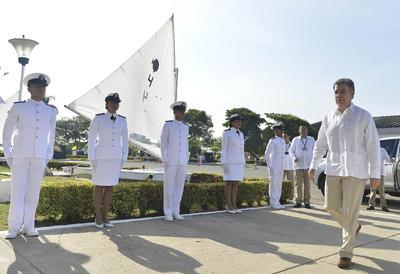 Previamente, el presidente Juan Manuel Santos había iniciado con actividades de reconocimiento por la paz conseguida.