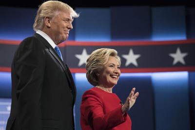 Es la primera vez que ambos candidatos comparten el mismo escenario.