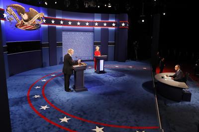 La noche de hoy se realizó el primero de tres debates presidenciales rumbo a las elecciones en noviembre.