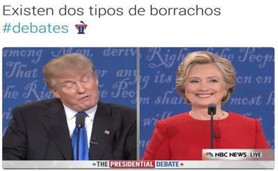 Las comparativas entre las actitudes de los candidatos no se hicieron esperar.