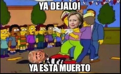El debate entre los candidatos presidenciales desató los memes en las redes sociales.