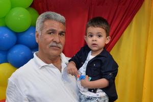 27092016 EN FAMILIA.  Jesús y Sebastián.