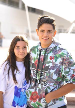 28092016 COMPAñEROS.  Paulina y Pablo.